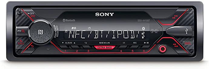 Sony DSX-A410BT FM/AM Digital Media Player (Black)