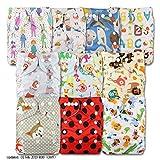 Best Couches lavables - Little Bloom,Lot de 10 couches lavables Fermeture à Review