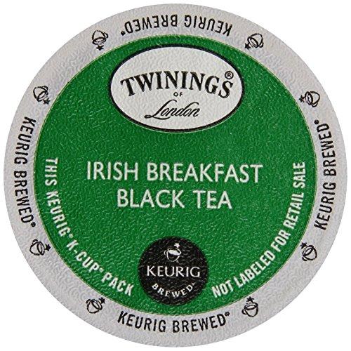 Twinings of London - Tè nero della prima colazione irlandese - 12 K-Tazze - Twinings Colazione Tè