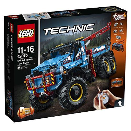 Preisvergleich Produktbild LEGO Technic 42070 - Allrad Abschleppwagen