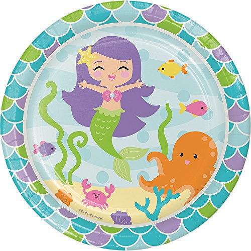 Mermaid Friends Pappteller (8 Karat) ()