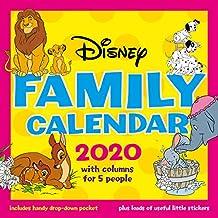 Disney Classics 2020 Mums Family Organiser Calendar - Official Square Wall Format Calendar