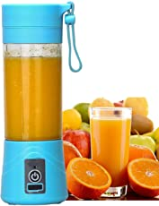 Fyugo™ Portable USB Juicer Blender 380ml Bottle with Rechargeable Power Bank & USB Cable
