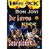 Hard Rock - 4 DVD Scorpions - Kiss - Def Leppard - Bon Jovi