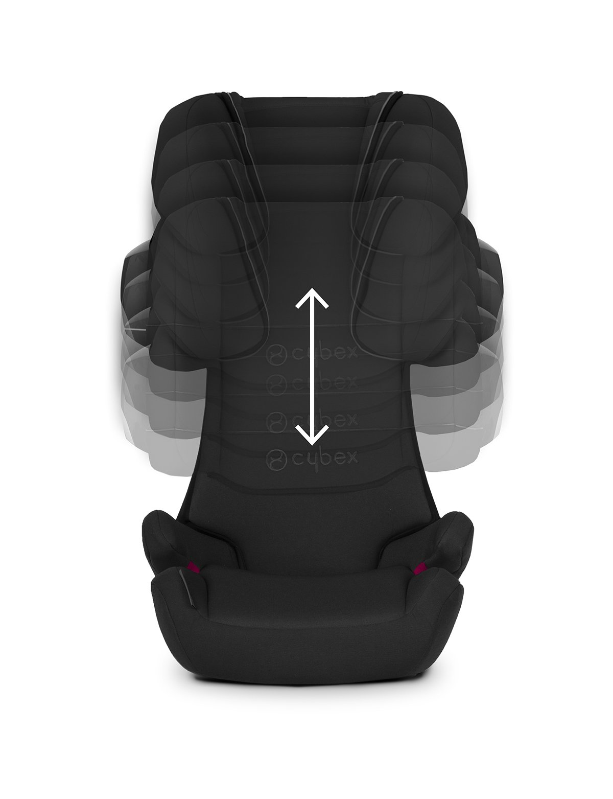 CYBEX Silver Solution X2-Fix Child's Car Seat, For Cars with and without ISOFIX, Group 2/3 (15-36 kg), From approx. 3 to approx. 12 years, Purple Rain Cybex Sturdy and high-quality child car seat for long-term use - For children aged approx. 3 to approx. 12 years (15-36 kg), Suitable for cars with and without ISOFIX Maximum safety - 3-way adjustable reclining headrest, Built-in side impact protection (L.S.P. System) 11-way adjustable, comfortable headrest, Adjustable backrest, Comfortable seat cushion 2