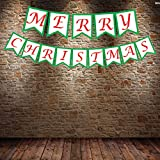 #5: PARTY PROPZ CHRISTMAS BANNER/CHRISTMAS PHOTO BOOTH PROP/ CHRISTMAS DECORATION/ CHRISTMAS SUPPLIES/CHRISTMAS TREE DECORATION