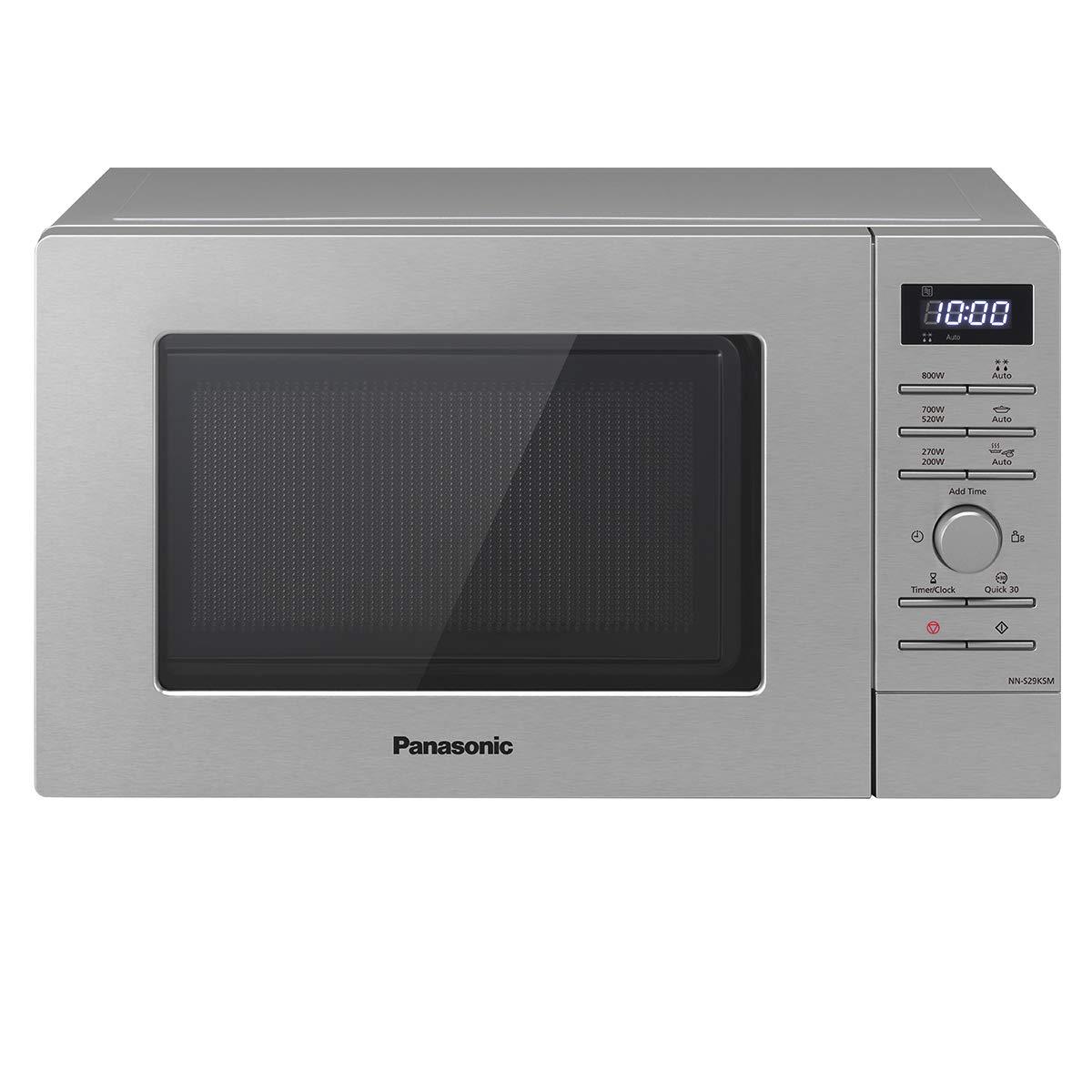 Panasonic NN-S29 Solo Mikrowelle (800 Watt, 20 Liter) edelstahl
