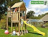 JUNGLE GYM Spielturm Jungle Palace mit Rutschstange, Gesamtmaße (B/T/H): 180/410/380 cm