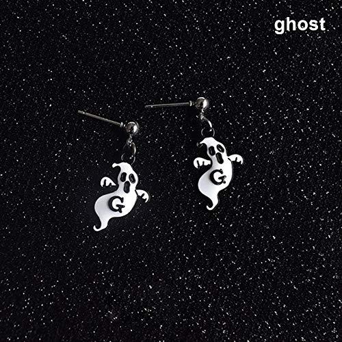 Ferrell 1 Paar Damen Damen Mädchen Ohrringe Ear Stud Drop Anhänger Geschenke Schmuck für Halloween Party ()