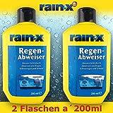 2x Rain-X Regenabweiser 200 ml Scheibenwischer Auto Scheibenreiniger