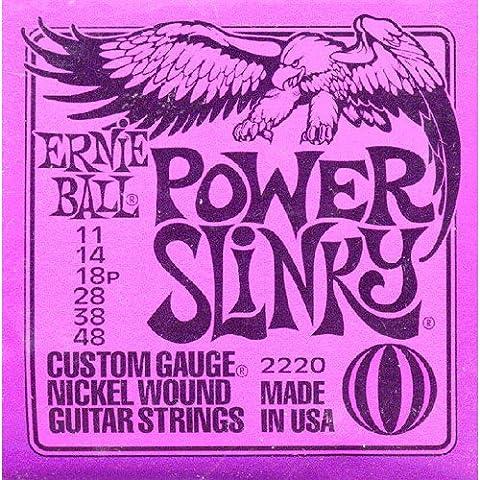 Ernie Ball: Power Slinky Guitar String Set. Pour Guitare