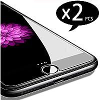 """NEW'C Pacco da 2 Pezzi, Pellicola Protettiva in Vetro Temperato per iPhone 7, iPhone 8 (4.7"""")"""
