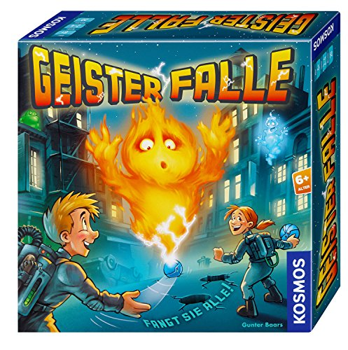 KOSMOS Spiele 697778 - Geister-Falle - Brettspiel Geister