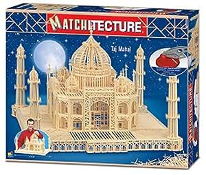 Taj Mahal modèle allumette artisanat Kit Matchitecture