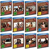 GOJKO MITIC komplette Western & Indianerfilme DEFA COLLECTION 12 Blu-Ray remastered Edition