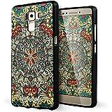 Huawei Honor 7 Funda,Lizimandu 3D Patrón Protectiva Carcasa de Silicona Gel TPU estrecha Case Cover Para huawei honor7(Mystic compass)