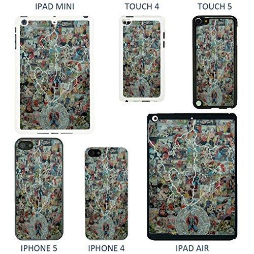 Accessories4Life Coque de protection pour appareils Apple Motif couverture de bande dessinée Marvel, Batman - 926 - Blanc, iPhone 5/5S Thor - 904 - Noir