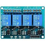 SODIAL(R) 5V de 4 canales de rele Escudo Modulo para Arduino PIC AVR ARM DSP Electronico