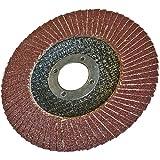 Silverline 868810 Korund-Fächerscheibe 125 mm, 40er-Körnung