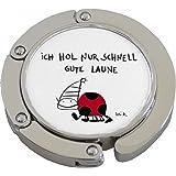 Rannenberg RFK008 Klack Taschenhalter Gute laune Tasche Reise Bag Metall