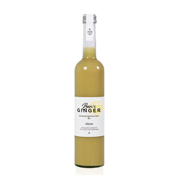 Bio Ben's Ginger - concentrato biologico di zenzero - 0,5 litri