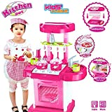 Luxury Battery Operated Kitchen Play Set Super Toy For Kids With Light, Sound