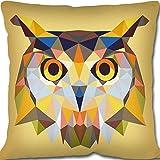 Seg de Paris arazzo/Needlepoint canvas–geometrico Owl (Geometrique Chouette)