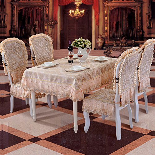 rivestimenti in pizzo in stile europeo/Lo stile di copertura esclusiva/Copertine per retro tappezzeria sedie Kit-B
