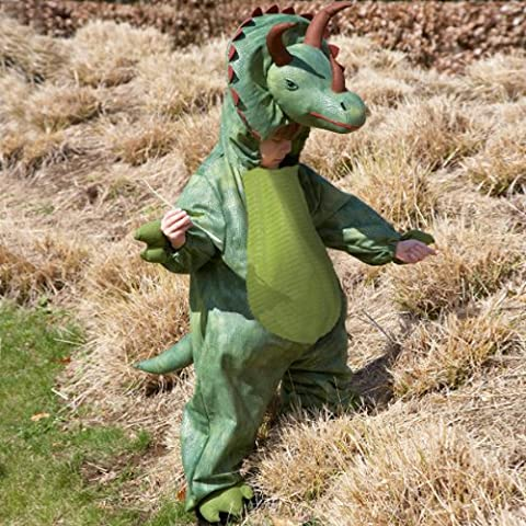 Deluxe Triceratops Dinosaur fancy dress up BNWT 18m-8yrs Halloween Boys Costume (6-8 years) by Travis designs