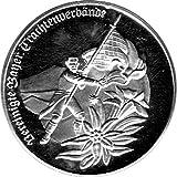 Schniebel Trading Medaille 100 Jahre Trachtenvereine in Bayern 1983 Stempelglanz, Silber