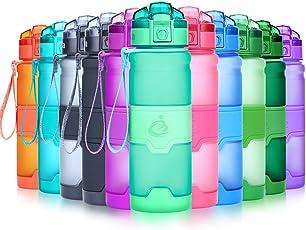 Grsta Sport Trinkflasche,400ml/500ml/700ml/1l-Bpa Frei,Kunststoff,Auslaufsicher