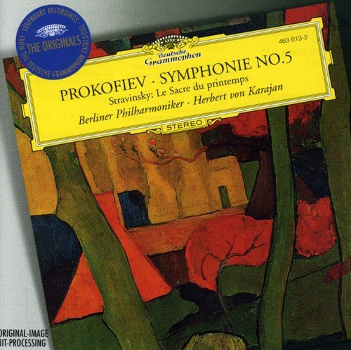 Prokofiev : Symphonie n° 5 - Stravinsky : Le Sacre du printemps