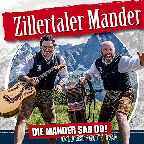 Die Mander san do! Hoi, jetzt gehts rund; Die neue CD 2017; Tiroler Schützenboarischer; Graukas Reggae; A rocking fu.. Jodler;