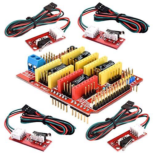 profesional impresora 3d cnc kit para arduino kuman grbl cnc shield uno r3 board ramps 1 4. Black Bedroom Furniture Sets. Home Design Ideas