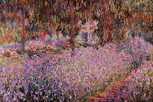 Libby's Emporium 564067_Monet's Garden In Giverny_ Claude Monet A4 Photo Poster Print 10x8 - 8x10 Monet