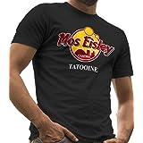 Camiseta Star Wars, con texto «Mos Eisley Cantina Tatooine», camisetas LeRage para hombre