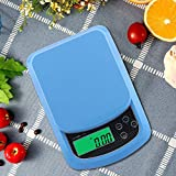 Atom A120 Digital Kitchen Weighing Scale, Blue, 10kg