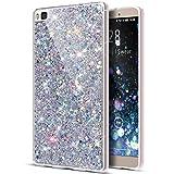 ikasus Huawei P8Caso, Huawei P8Funda, diseño Lentejuelas Glitter...