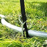 Ultrasport Trampolin Spiral Bodenanker-Set - 5