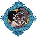 Disney - Applicazione decorativa con Mowgli e Baloo, personaggi del Libro della Giungla, per bambini