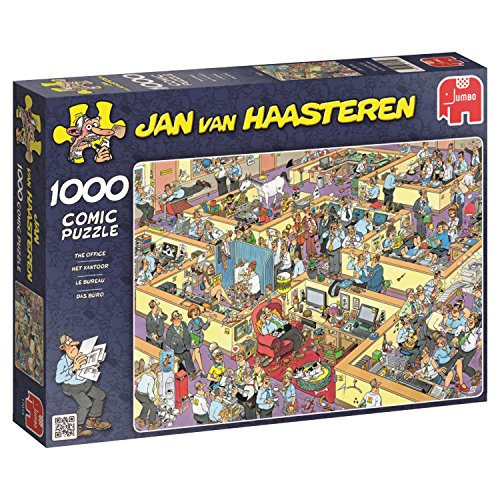 Jumbo 17014 - Jan Van Haasteren - Das Büro - 1000 Teile
