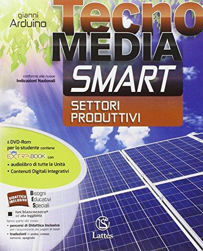 Tecnomedia smart. Settori produttivi-Mi preparo. Per la Scuola media. Con DVD. Con e-book. Con espansione online