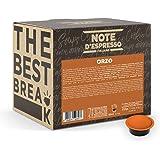 Note D'Espresso Bevanda all'Orzo in Capsule per Macchine Lavazza e A Modo Mio, Confezione da 100 x 3.5 g