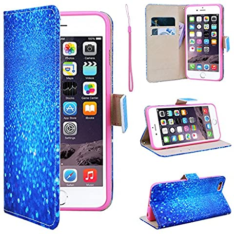 SmartLegend iPhone 6 Wallet Case, iPhone 6S Leather Case, Folio Flip Case Cover for Apple iPhone 6 6S 4.7
