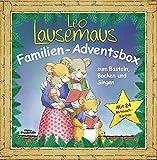 Leo Lausemaus Familien-Adventsbox: zum Basteln, Backen und Singen