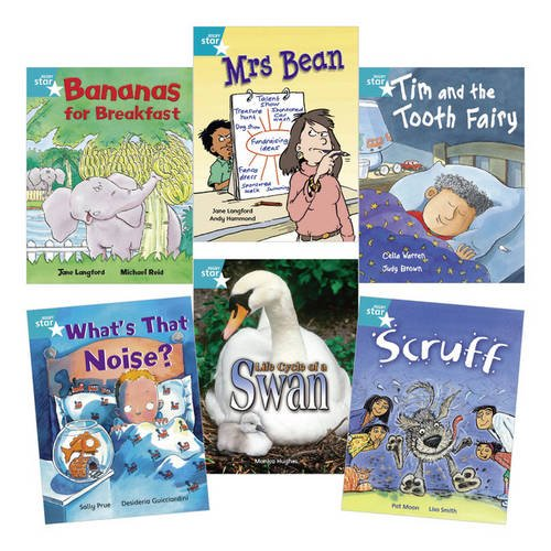 Learn at Home:Star Reading Turquoise Level Pack (5 fiction and 1 non-fiction book)