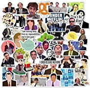 The Office Stickers 50 Pack Decals Office Funny Merchandise Poster Sticker for Laptops Computers Office Sticke