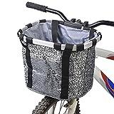 Best Pet Carriers - Docooler Panier de Vélo Détachables Cycle Avant Toile Review