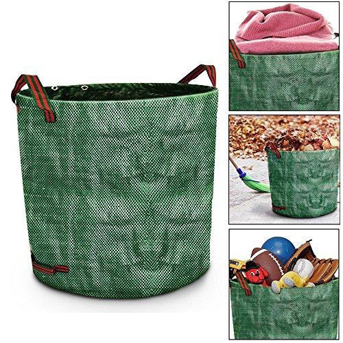 WIOR 3 - Pack 72 Gallons Garden Bags Müllsäcke geeignet für Gras Stecklinge und tote Blätter / Hedge Trimmings
