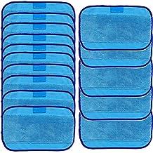 15pcs Mopping Paños, saihui paños húmedos para iRobot Braava 380380t 320Mint 42004205mopa microfibra para toallitas húmedas